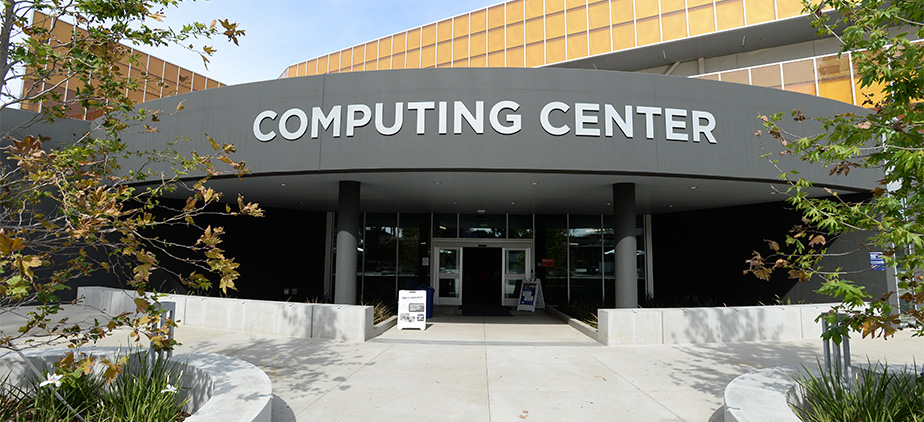 front door of the computer center at MBCC building