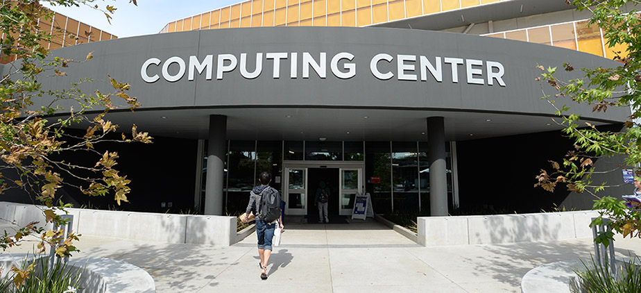 Computing Center Front Entrance
