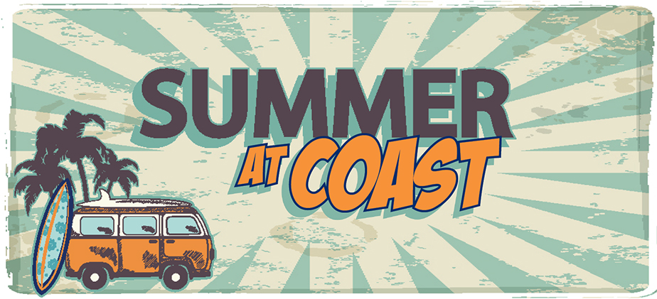 Summer at Coast - Register for Summer Classes