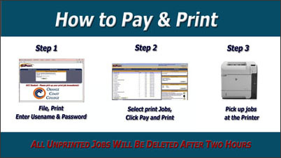 How to Pay and Print